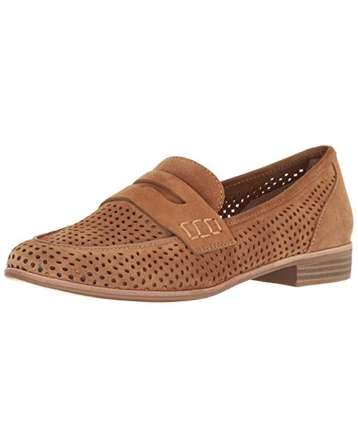 G.H.BASS - Brown Ellie Penny Loafer - Lyst