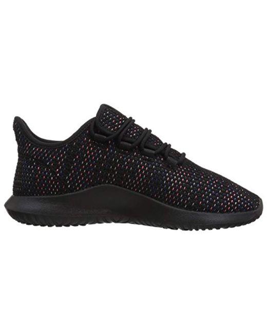 sports shoes 96de6 c177d ... Adidas Originals - Tubular Shadow Ck Fashion Sneakers Running Shoe,  Black solar Red  ...