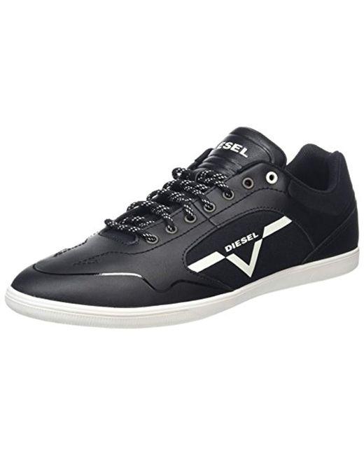 DIESEL - Black Happy Hours S-aarrow Fashion Sneaker for Men - Lyst
