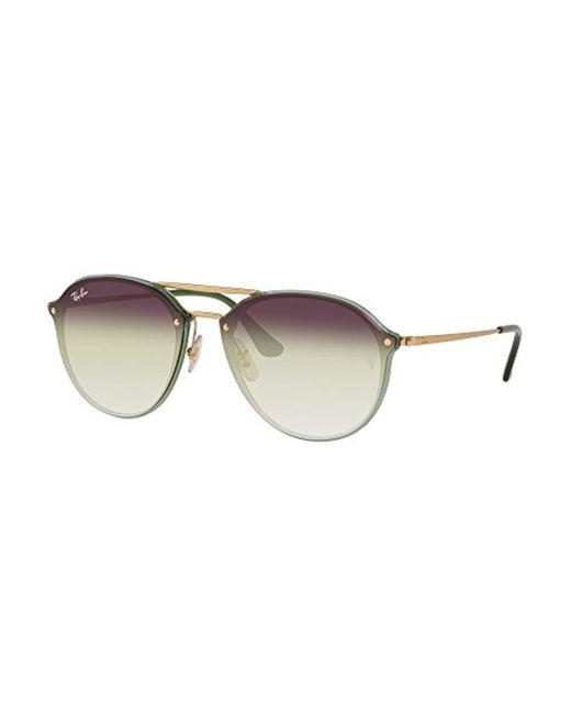 Ray-Ban Green Rb4292n Blaze Doublebridge Sunglasses