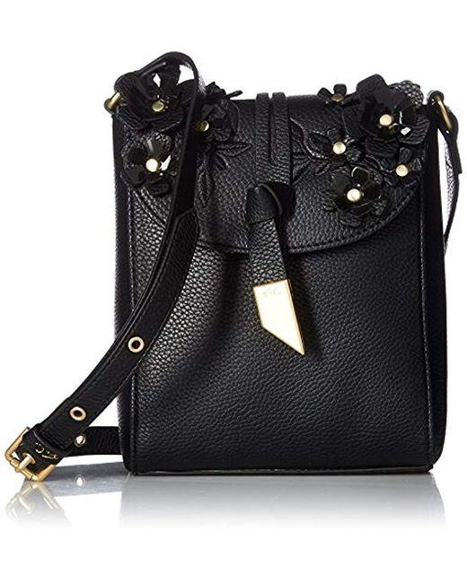 Foley + Corinna Black Lila Phone Bag