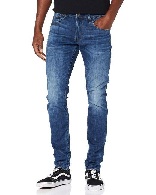 3301 Deconstructed Skinny Vaqueros G-Star RAW de hombre de color Blue