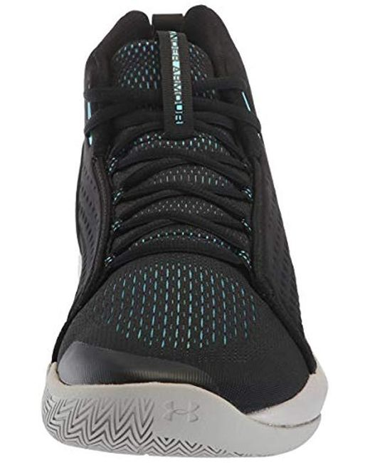 //White Under Armour Mens Speedform Feel Cross Trainer Basketball Shoe 8.5 102 Mod Gray