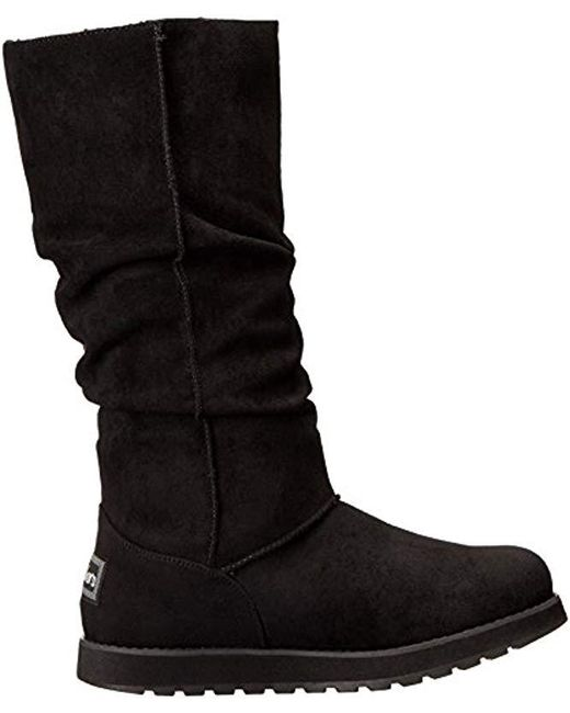 2018 shoes new lower prices pretty nice Women's Black Keepsakes-big Button Slouch Tall Winter Boot