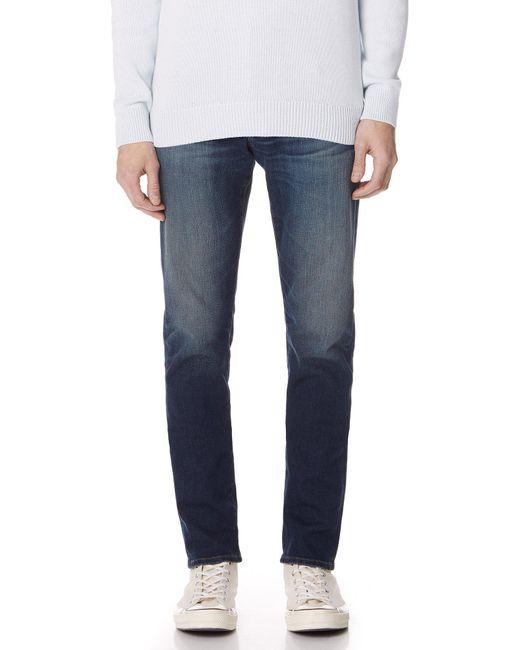 AG Jeans Blue Graduate Tailored Leg 360 Denim for men
