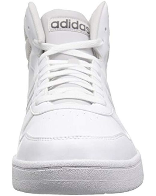 a1dcb18e2c89 Lyst - adidas Originals Vs Hoops Mid 2.0 in White for Men - Save 34%