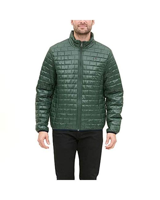 Tommy Hilfiger Mens Ultra Loft Sweaterweight Quilted