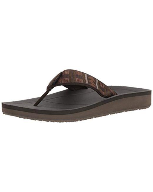 Teva Brown Premier Flip-flop for men