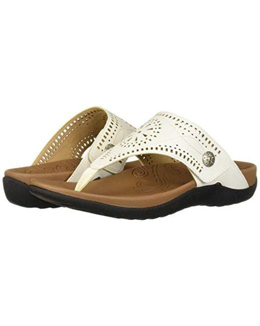 Women's Cutout Ridge White Ridge White Women's Sandal CedBox