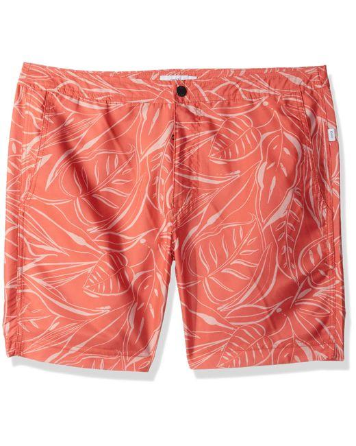 Onia Orange Calder 7.5 for men