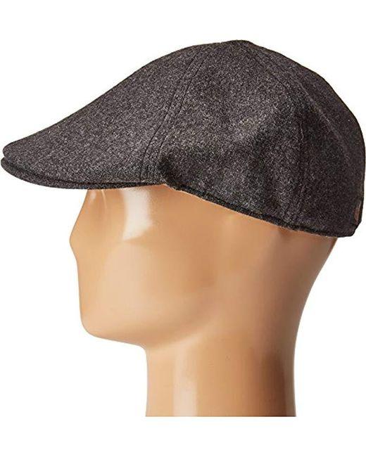 450042308bf Lyst - Goorin Bros Andy Hamill Wool Ivy Newsboy Hat in Gray for Men ...