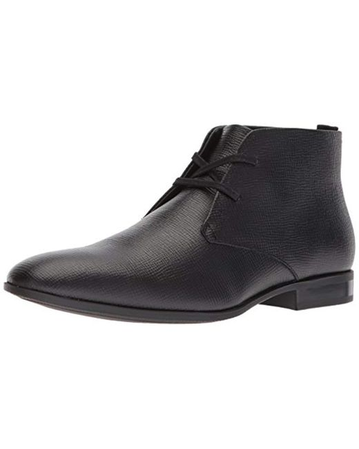 Calvin Klein - Black Carmicheal Epi Chukka Boot, for Men - Lyst