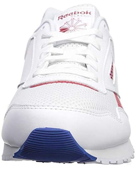 7667918e32b1c Men's Classic Harman Run, White/excellent Red/dark Royal, 5.5 M Us