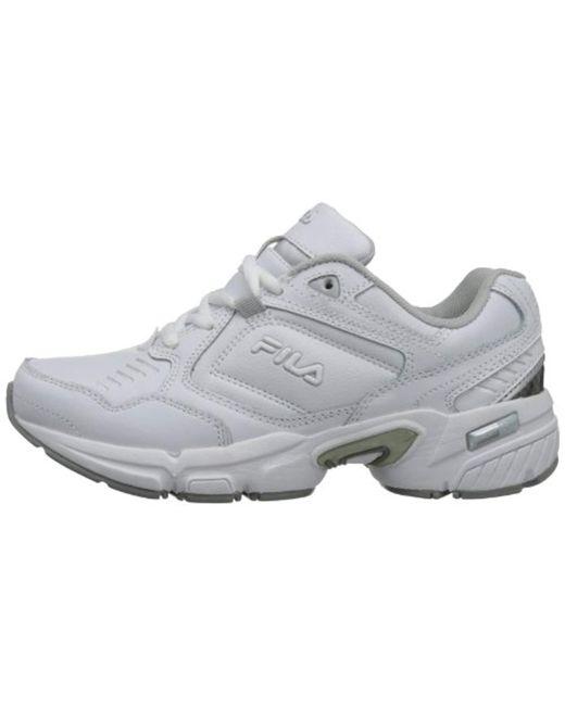 b96d7a9a Women's White Memory Comfort Sneaker Slip Resistant Work Shoe