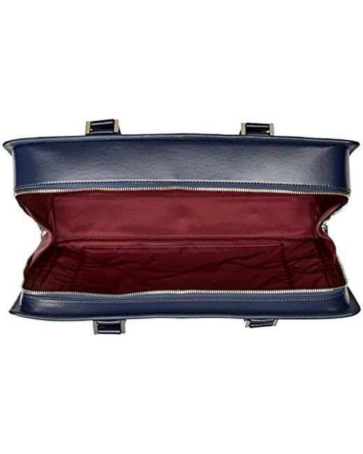 29c3b5a94316 Men's Blue Neoclassico Full Zip Briefcase Bag
