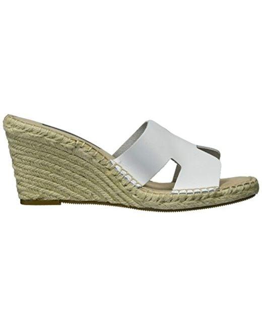 36c79e8bed4 Women's White Eryk Wedge Sandal