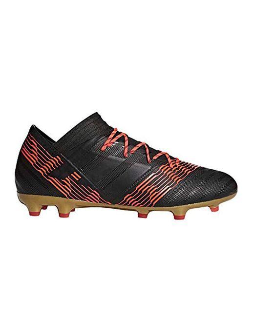 Lyst - adidas Nemeziz 17.2 Fg Soccer Shoe in Black for Men - Save 41% b00dc26ae