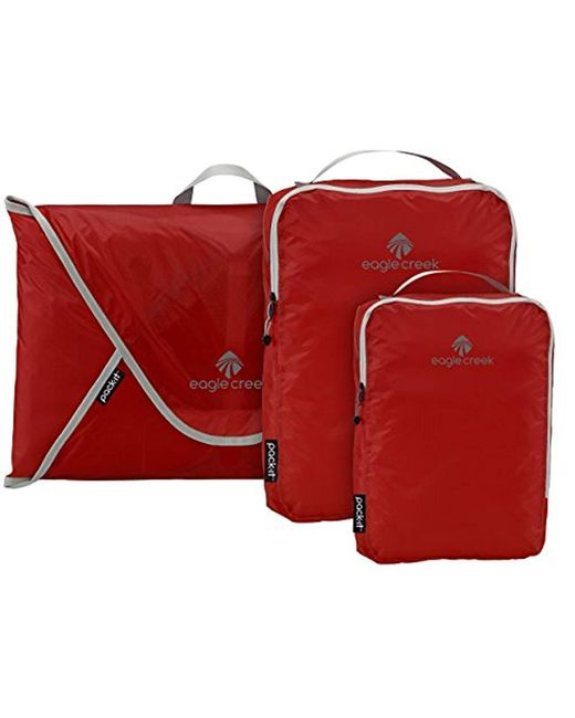 Eagle Creek Red Pack-it Specter Starter Set Packing Organizers