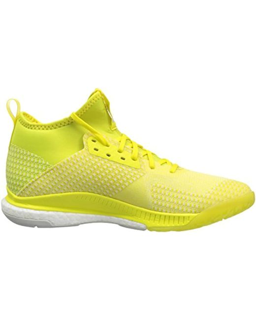 adidas Rubber Crazyflight X 2 Mid Volleyball Shoe in Yellow ...