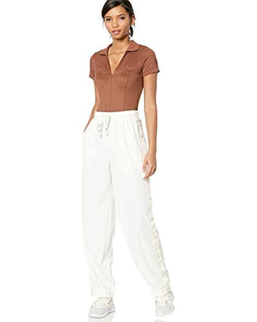 the best attitude 91d1e 913e8 Women's Brown Fenty Polo Collar Bodysuit