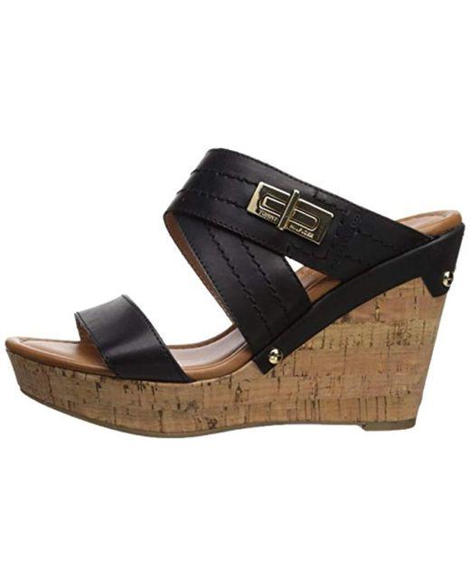 Tommy Hilfiger Women's Mili Wedge Sandal