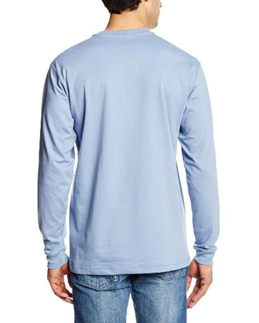 d3a7fac17829 ... Carhartt - Blue Flame Resistant Force Cotton Long Sleeve T-shirt for Men  - Lyst