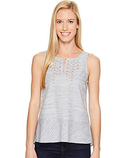 Woolrich - Blue Outside Air Eco Rich Tank Top - Lyst