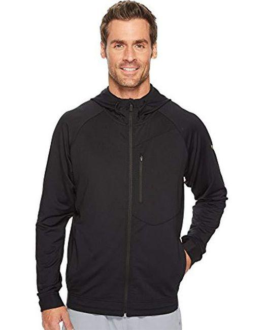 b262bd541259 Lyst - PUMA Tech Fleece Full Zip Jacket in Black for Men - Save 47%