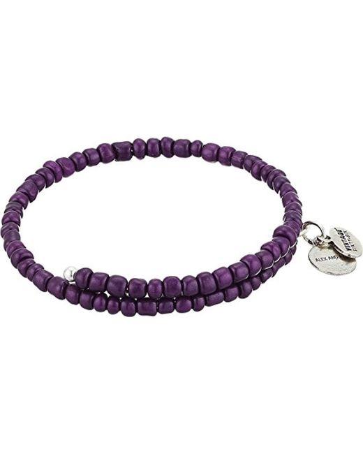 ALEX AND ANI - Metallic S Primal Spirit Wrap Bracelet - Lyst