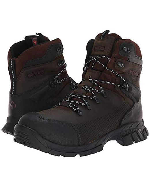 c67527631b9 Men's Brown Glacier Xtreme 6'' Composite Toe Industrial Boot