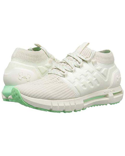 the best attitude 173b0 c0a43 Women's Hovr Phantom Running Shoe, Ivory (112)/green Typhoon, 12