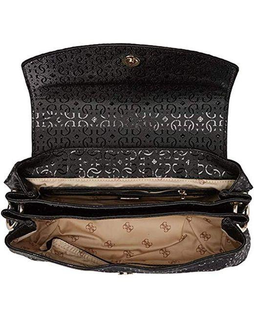 c17f2363eaa7 ... Guess - Black Tamra Shoulder Bag - Lyst ...