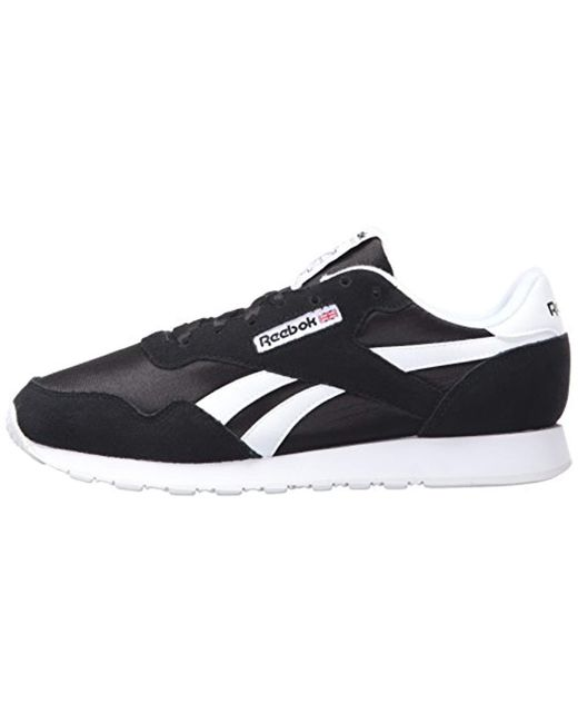 ea4af80f9c4 ... Reebok - Black Royal Nylon Classic Sneaker Fashion for Men - Lyst ...