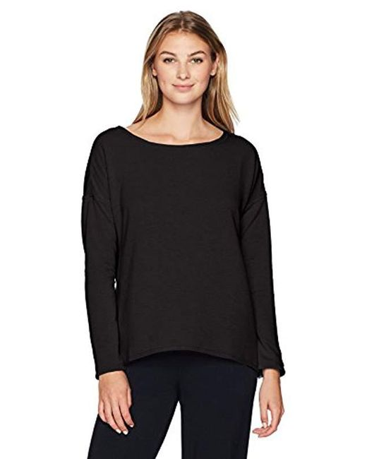 Jockey Black Flux Lounge Top