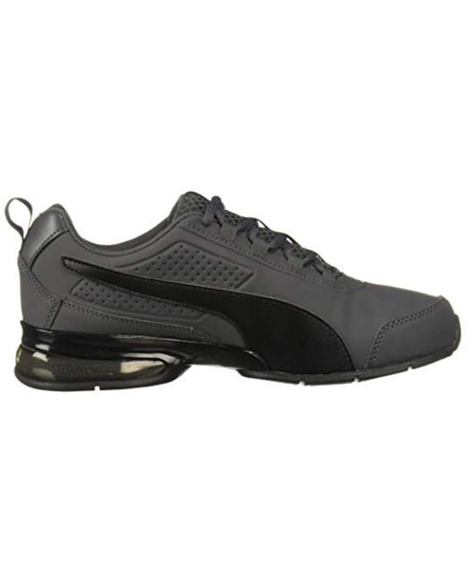 PUMA Synthetic Leader Vt Buck Sneaker in Asphalt Black