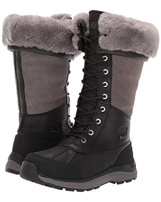 c6b7c5bf2d9 Women's Black W Adirondack Tall Iii Snow Boot