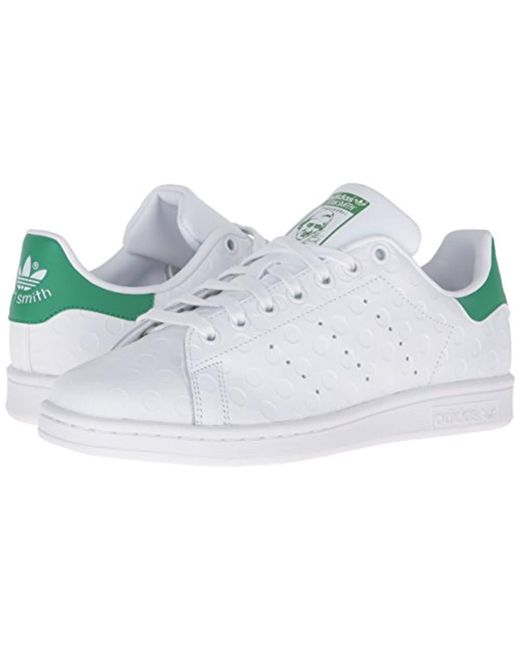 brand new 0fb92 cb6b5 ... Adidas - White Stan Smith Shoes (trainers) - Lyst ...