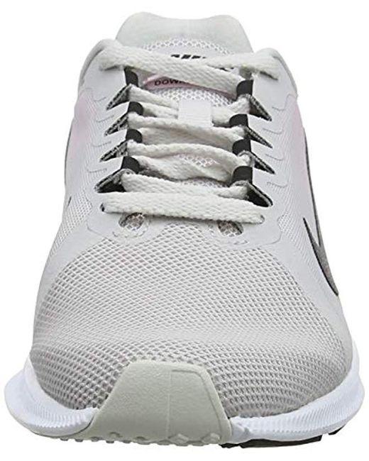 51ae10cacf2b6 Women's Downshifter 8 Running Shoe, Pure Platinum/psychic Pink/black, 5.5  Regular Us