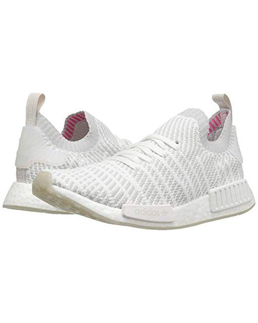 a711a5f34 ... Adidas Originals - White Nmd r1 Stlt Pk Running Shoe for Men - Lyst ...