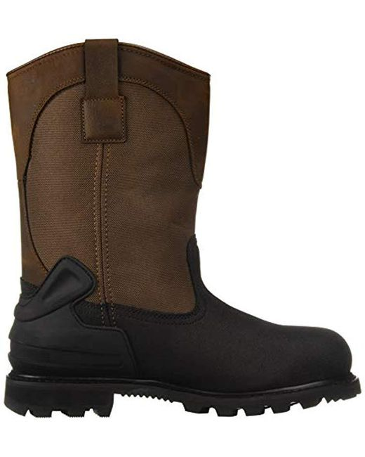 a002811bd89 Men's Brown Csa 11-inch Wtrprf Insulated Work Wellington Steel Safety Toe  Cmr1899 Industrial Boot