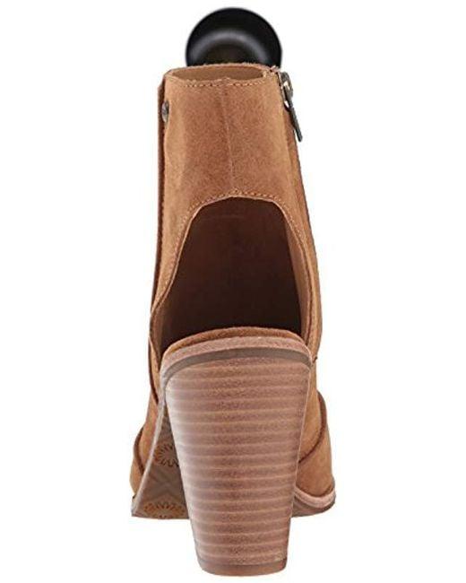 c4ddaed6010 Women's Brown W Valencia Peep Toe Heeled Sandal