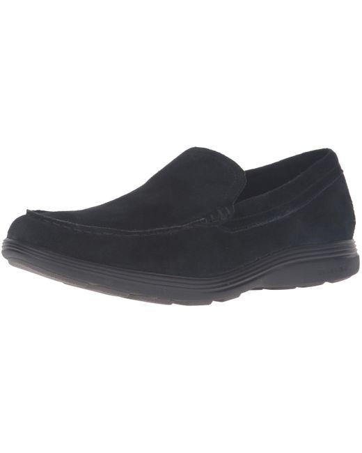 Cole Haan Black Grand Tour Venetian Slip-on Loafer for men
