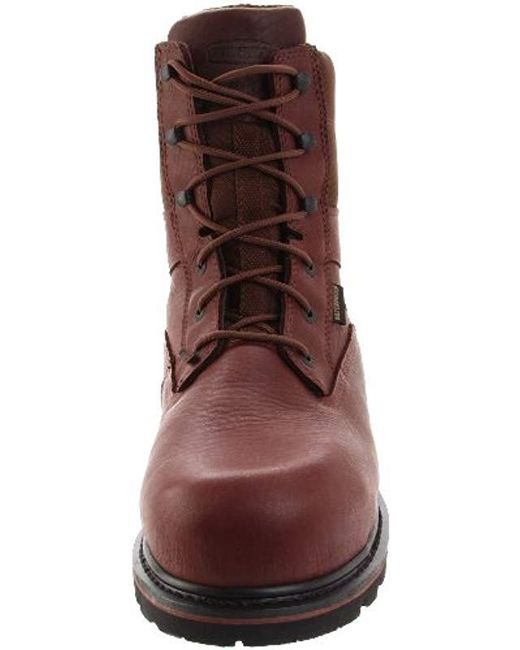 f0fb654f1ef Men's Brown Novack 8 Inch Comp Toe Boot