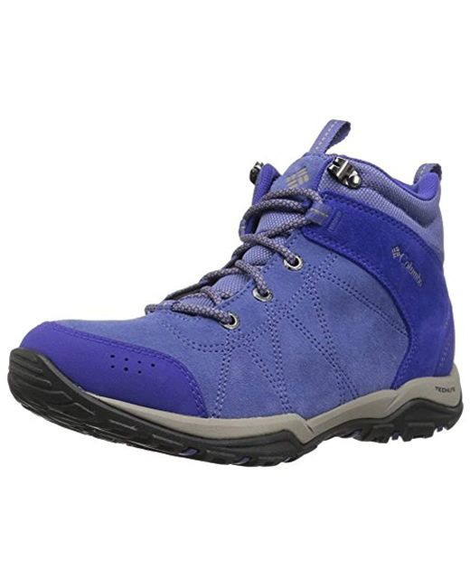 ab1609bf5ed Women's Blue Fire Venture Mid Suede Waterproof Hiking Boot, Eve, Kettle, 8  Regular Us
