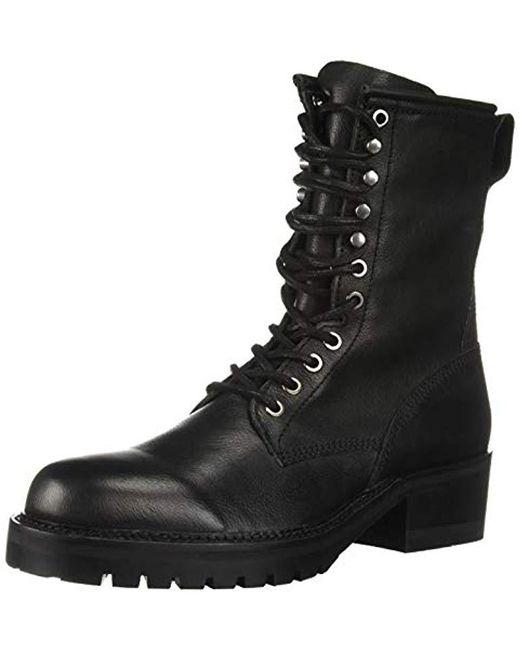 Steve Madden Black Self Made Rockey Ankle Boot for men