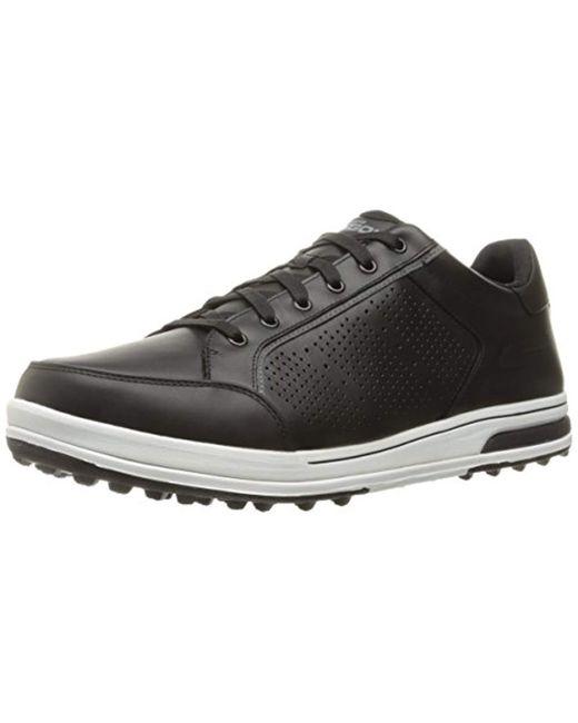 6ae3f94786d6 Lyst - Skechers Go Golf Drive 2 Lx Walking Shoe in Black for Men ...