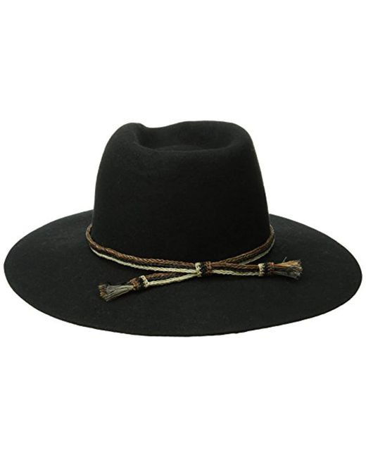 france brixton black leonard hat for men lyst 7d6aa 41d81 58c5f658c57c
