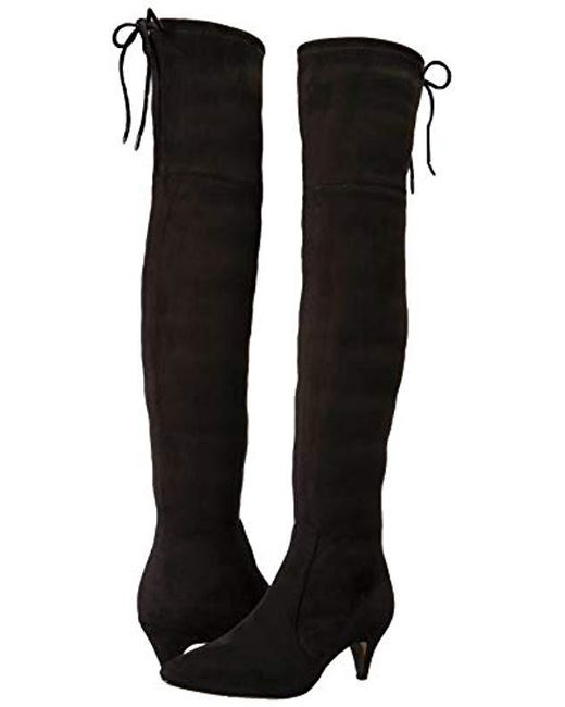 69f727ad205 ... Sam Edelman - Black Kristie Over The Over The Knee Boot - Lyst ...