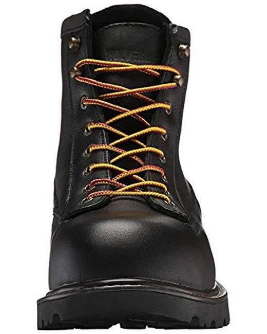 83f6012f9aa Men's Black Floorhand Ii Waterproof Steel-toe 6