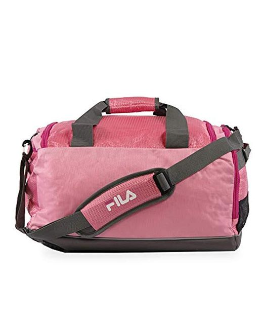c7c28121460f ... Fila - Pink Advantage Small Travel Gym Sport Duffel Bag - Lyst ...